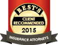 Best's Client Recommended Insurance Attorneys 2015